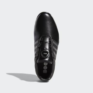 Men's Golf Black Tour360 XT-SL Boa Wide Shoes