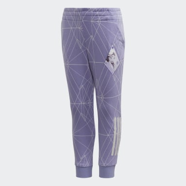 Calça Frozen 2 Slim Leg Roxo Meninas Training