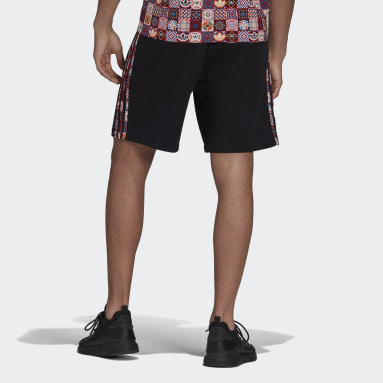 Men Originals Tiles 3-Stripes Allover Print Shorts