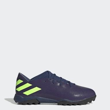 Zapatos de Fútbol Nemeziz Messi 19.3 Césped Artificial Azul Mujer Fútbol