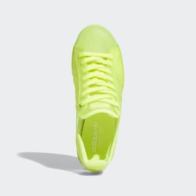 Zapatillas Superstar Jelly Amarillo Mujer Originals