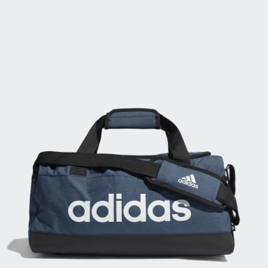 Handball Blue Essentials Logo Duffel Bag Extra Small