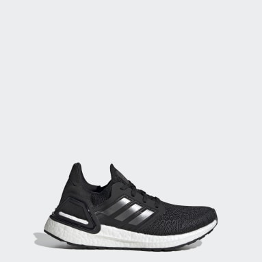 Youth Running Black Ultraboost 20 Shoes