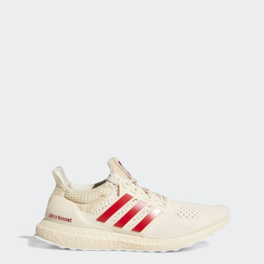 Running Beige Hoosiers Ultraboost 1.0 DNA Shoes
