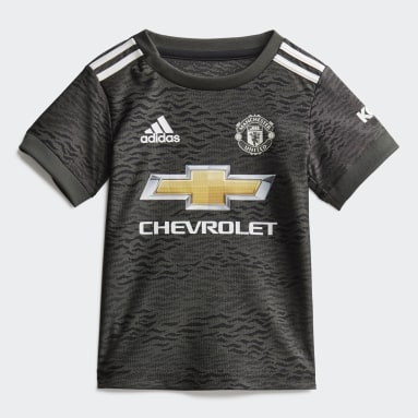 Kinderen Voetbal Groen Manchester United Baby Uittenue