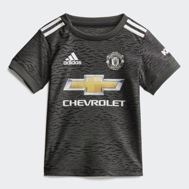 Deti Futbal Siva Súprava Manchester United Away Baby
