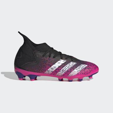 Kids Football Black Predator Freak.3 Multi Ground Boots