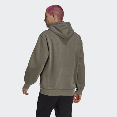 Hoodie Dyed Marrone Uomo Originals