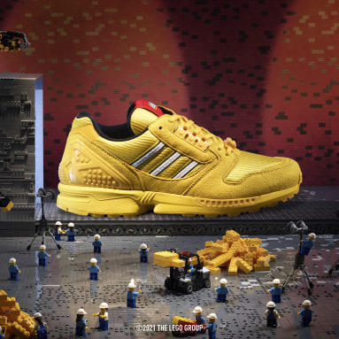 Erkek Originals Sarı adidas ZX 8000 x LEGO® Ayakkabı