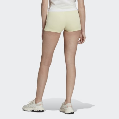 Women's Originals Yellow Tennis Luxe Booty Shorts