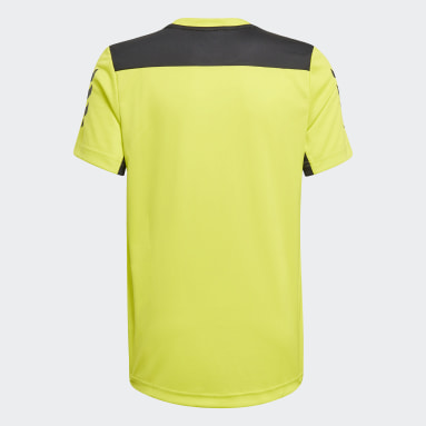 T-shirt XFG AEROREADY Primeblue Jaune Garçons Fitness Et Training