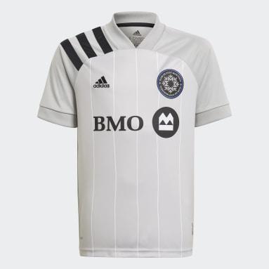 Maillot Extérieur CF Montreal 20/21 gris Adolescents Soccer