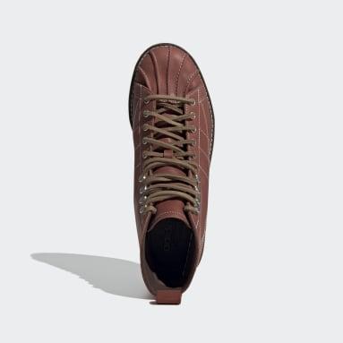 коричневый Ботинки Superstar