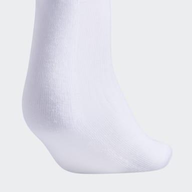 Women's Training White Cushioned 2.0 Crew Socks 3 Pairs XL