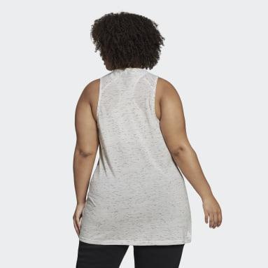 Camisola de Alças Winners 2.0 adidas Sportswear (Plus Size) Branco Mulher Sportswear