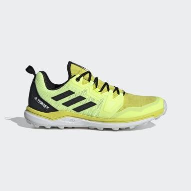 Chaussure de Trail Running Terrex Agravic Jaune Hommes TERREX