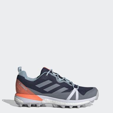 Women TERREX Blue Terrex Skychaser LT GORE-TEX Hiking Shoes