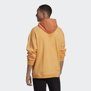 Men Originals Orange R.Y.V. Utility Hoodie