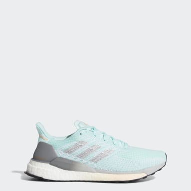 Women's Running Green Solarboost 19 Shoes