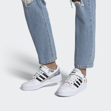 Dames Originals Wit Forum Low Schoenen