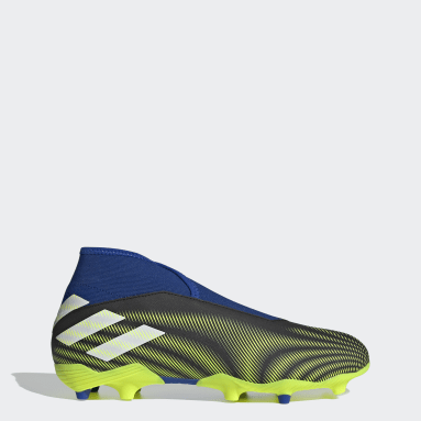 Fodbold Sort Nemeziz-3 Firm Ground Laceless støvler