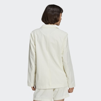 Women Originals White Tennis Luxe Blazer