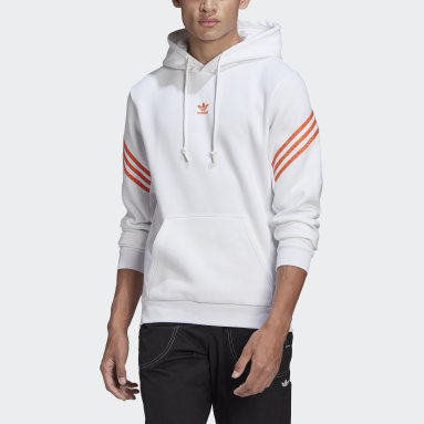 Originals Vit Hoodie with Swarovski® crystals
