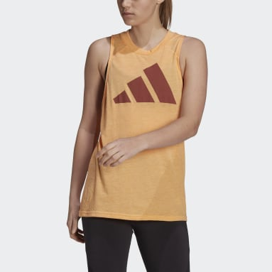 Women Sportswear Orange adidas Sportswear Winners 2.0 Tank Top