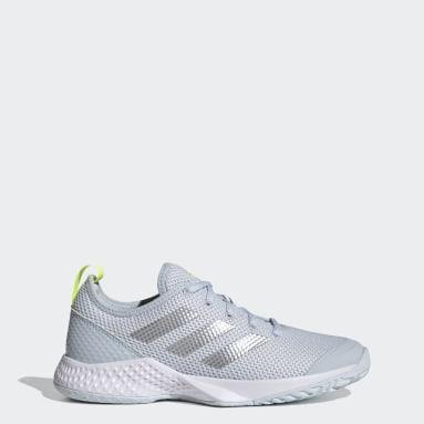 Women's Tennis White APAC Halo Womens Multi-Court Tennis Shoes