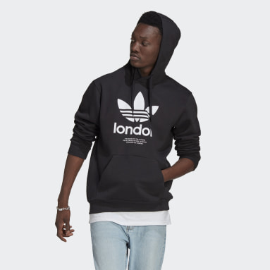 Originals London Hoodie Schwarz