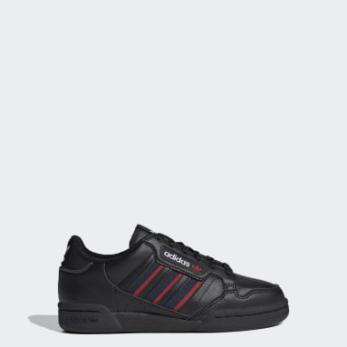 Genç Originals Siyah Continental 80 Stripes Ayakkabı