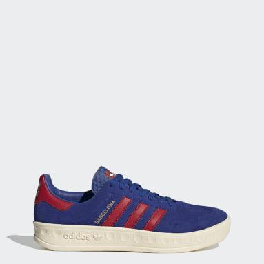 Originals Blauw Barcelona Schoenen