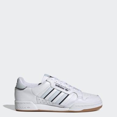 Chaussure Continental 80 Stripes Blanc Originals