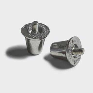 Rugbyknotter i aluminium Sølv