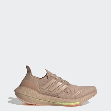 Kvinder Løb Beige Ultraboost 21 sko