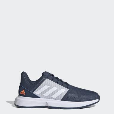 Men Tennis Blue CourtJam Bounce Shoes