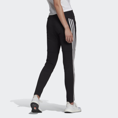 Women Sportswear Black adidas Sportswear 3-Stripes Skinny Pants