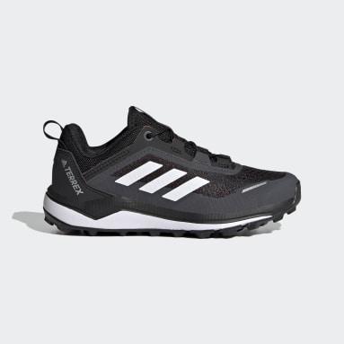 Sapatos de Trail Running Primegreen Terrex Agravic Flow Preto Criança TERREX
