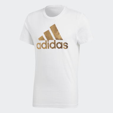 Camiseta Badge of Sport Branco Homem Training