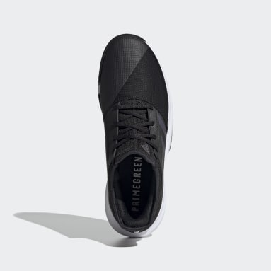 Men Tennis Black GameCourt Tennis Shoes