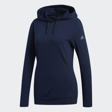 Women Golf Blue Lightweight Hoodie