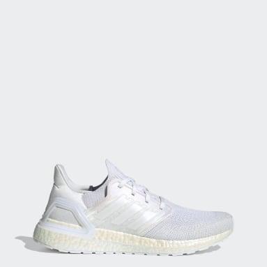 Erkek Koşu Beyaz Ultraboost 20 Ayakkabı