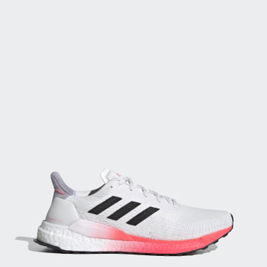 Running White Solarboost 19 Shoes