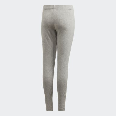 Girls Sportswear Grå Essentials Linear tights