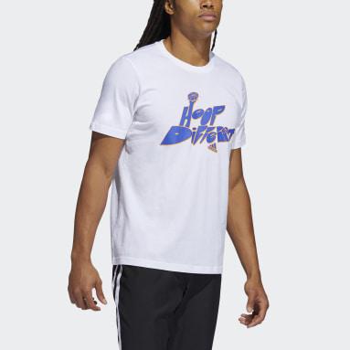 Men Basketball White Born Different Graphic T-Shirt