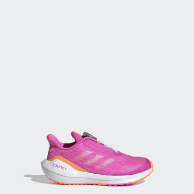 Kids Running Pink EQ Run Boa Shoes