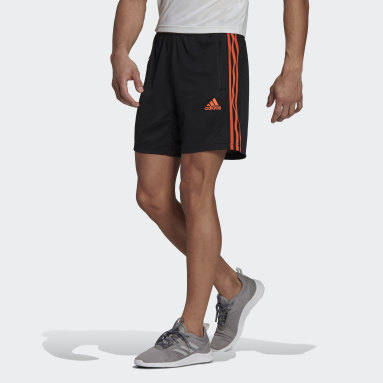 Heren Fitness En Training Zwart Primeblue Designed To Move Sport 3-Stripes Short