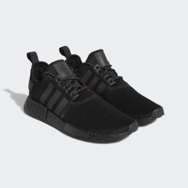 Men Originals Black Pharrell Williams NMD_R1 Shoes