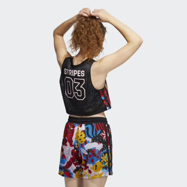 Frauen Basketball Egle Basketball Tanktop Schwarz