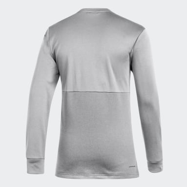 Men's Hockey Multicolor Blue Jackets Team Issue Crew Sweatshirt